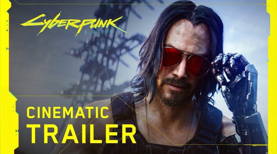 Com trailer alucinante e Keanu Reeves, Cyberpunk 2077 chega em abril