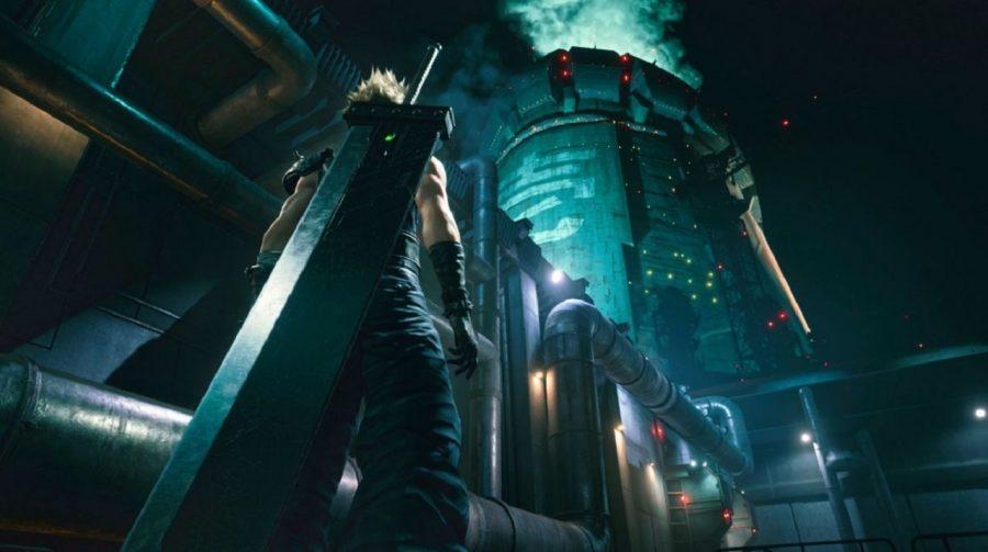 Nova arte de Final Fantasy VII Remake mostra mais de Midgar