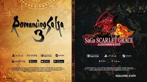 Jogos da franquia SaGa ganharão versões ocidentais; saiba mais