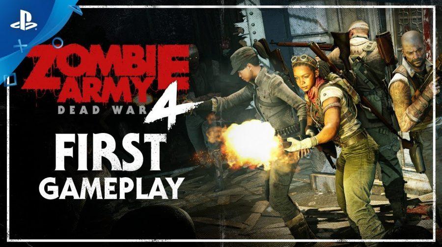 Zombie Army 4: Dead War: gameplay destaca co-op e tiroteios intensos