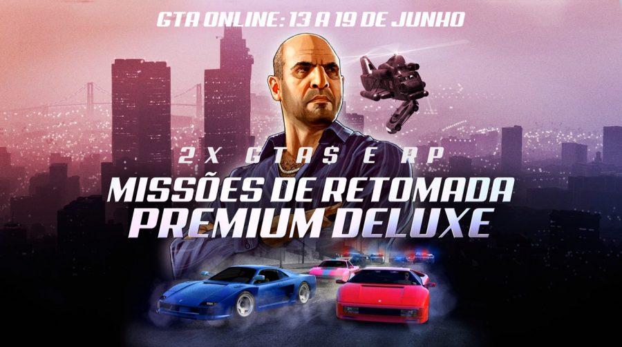 GTA Online oferece recompensas em dobro nesta semana; saiba mais