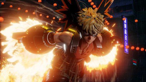 Jump Force receberá Bakugo, de My Hero Academia, em agosto