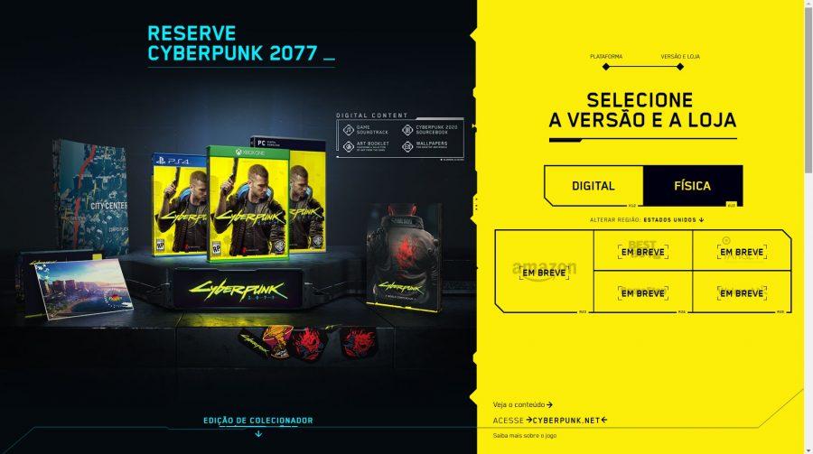 Edições de Cyberpunk 2077 serão repletas de itens especiais; confira