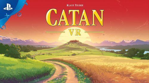 Catan VR, clássico dos tabuleiros, chegará ao PlayStation VR