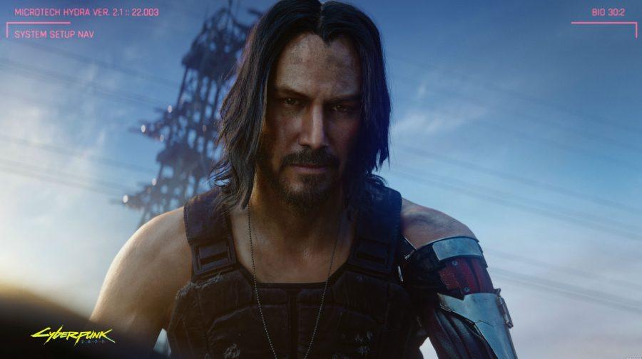 Keanu Reeves poderá cantar em Cyberpunk 2077