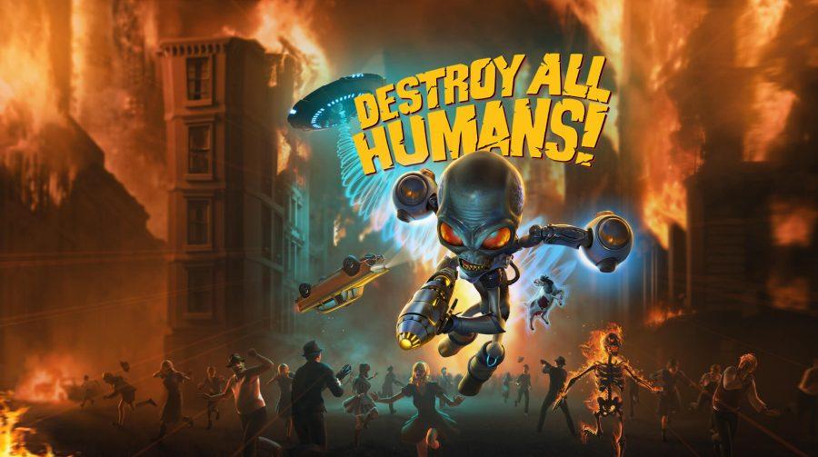 Imagens de Destroy All Humans! mostram visuais do jogo; veja