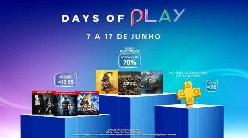 Days of Play terá: descontos na PS Plus, sucessos por R$ 40 e outros descontos!