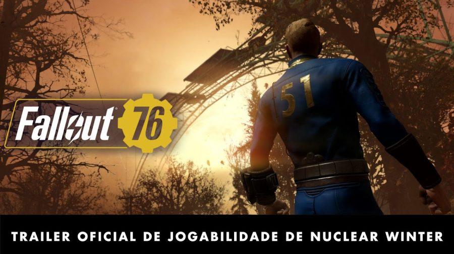 Contrariando declaração, Bethesda anuncia battle royale para Fallout 76
