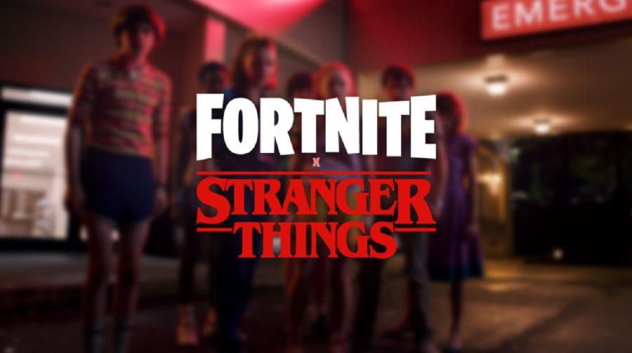 Fortnite terá crossover com Stranger Things da Netflix