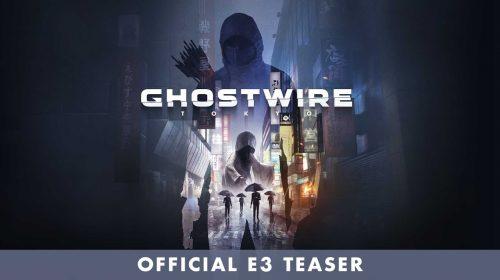 Ghostwire Tokyo é o novo jogo de Shinji Mikami da Tango Gameworks