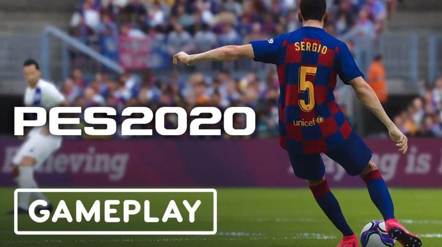 PES 2020 ganha gameplay com