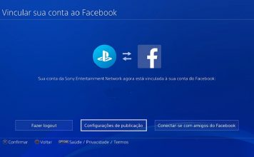 PS4 no Facebook