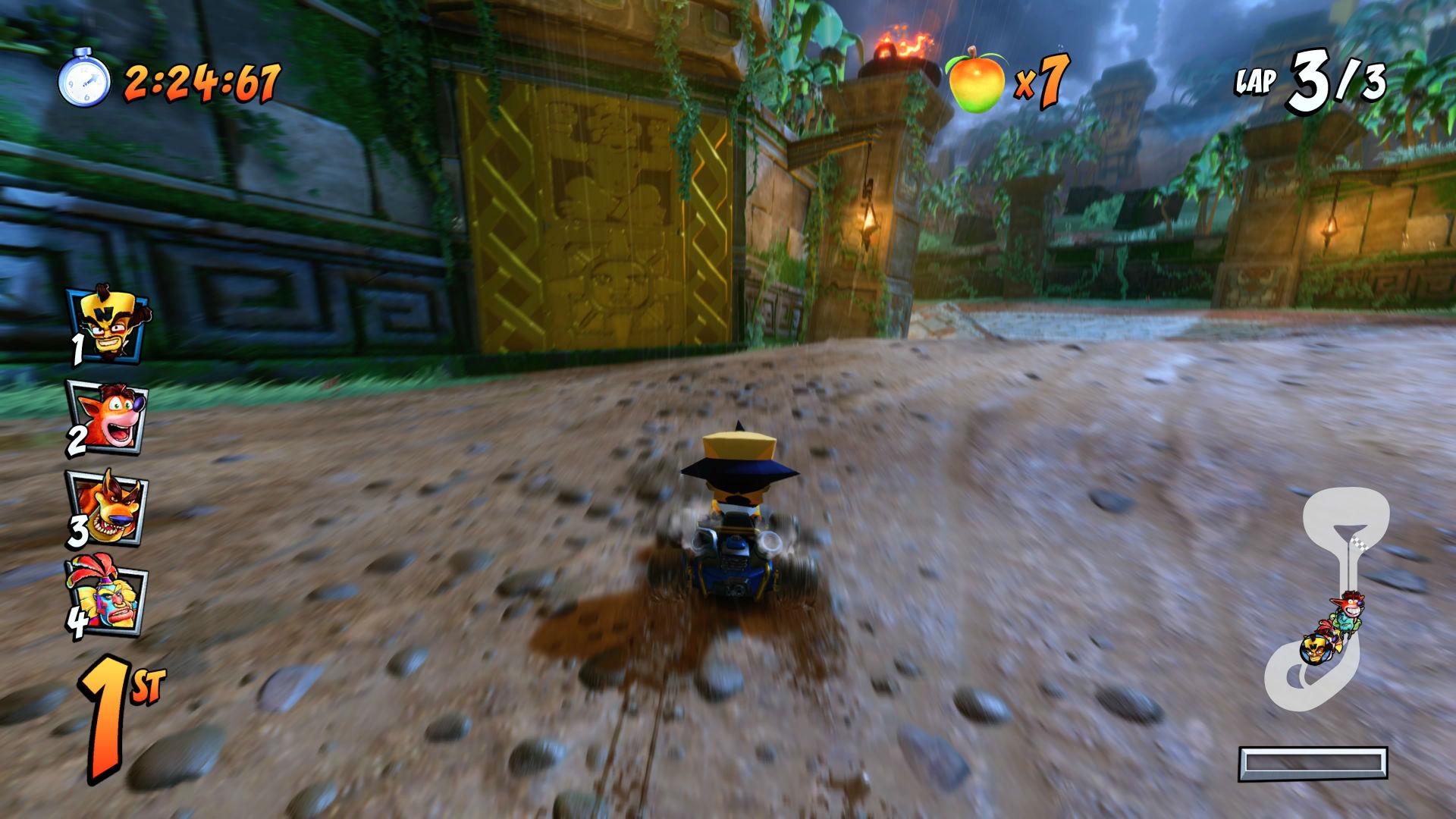 Tiger Temple Crash Team Racing Nitro-Fueled