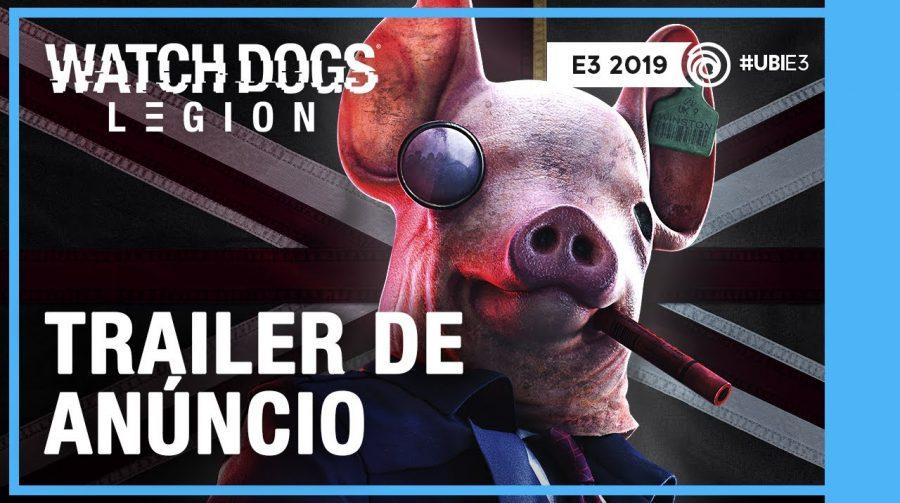 Watch Dogs Legion recebe trailer de gameplay; Jogo chega em 6 de março