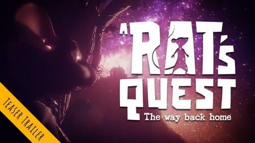 A Rat's Quest: The Way Back Home é anunciado para PS4