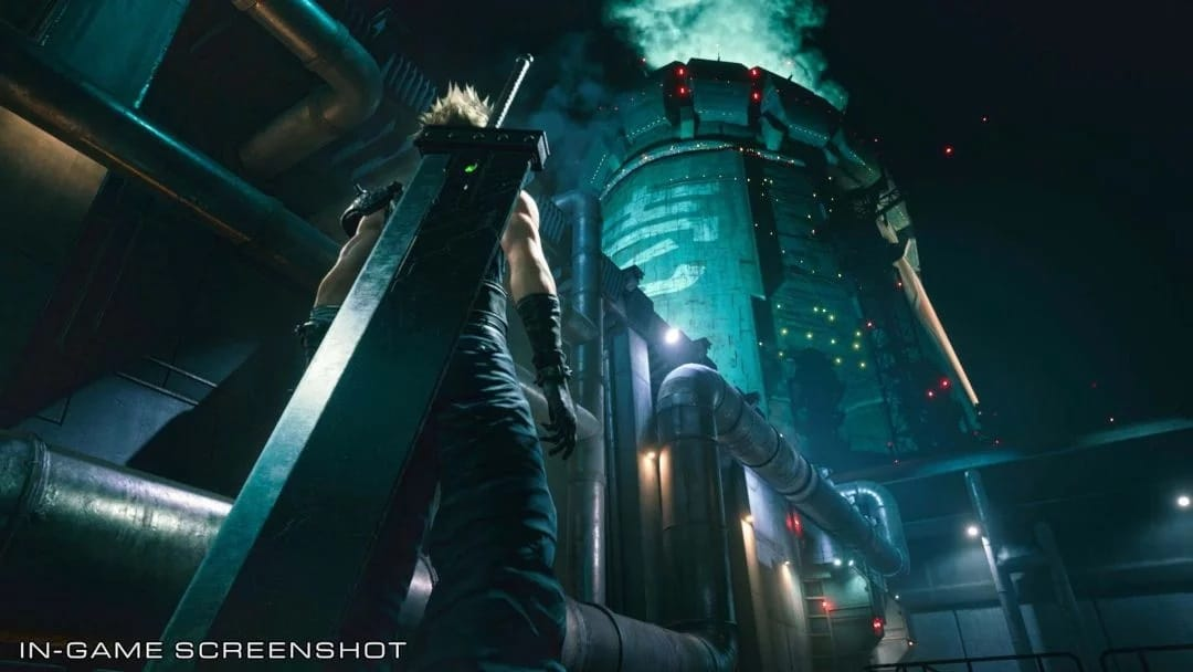 In-game de Final Fantasy VII Remake