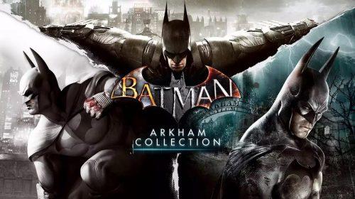 Nova coletânea vem aí! Amazon lista Batman Arkham Collection