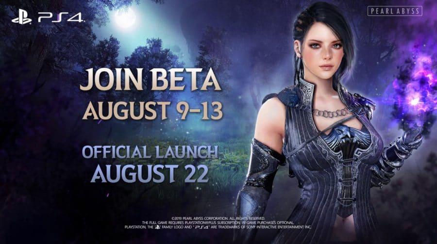 BETA de Black Desert é anunciada para 9 de agosto