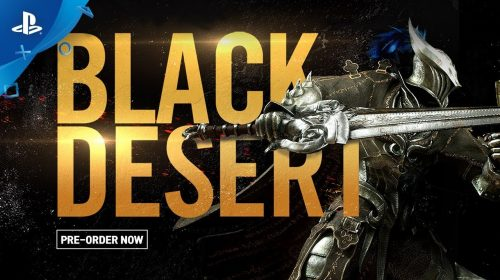 Black Desert chega ao PlayStation 4 em 22 de agosto