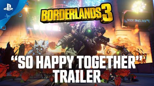 Borderlands 3 ganha trailer insano ao som de