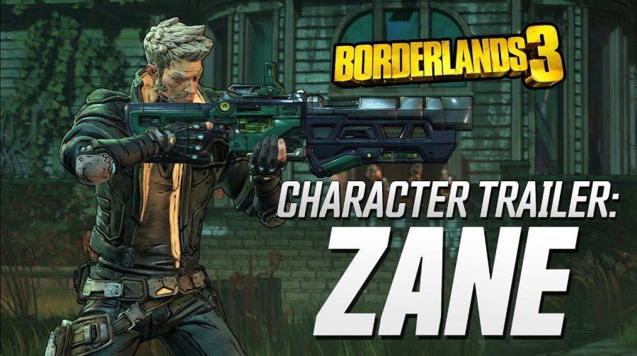 Borderlands 3 ganha novo trailer focado em Zane