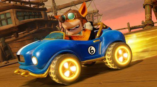 Crash Team Racing: Nitro-Fueled vem dominando as vendas globais