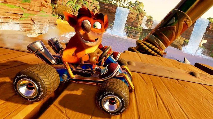 Crash Team Racing Nitro-Fueled: update melhora os loadings e modo online