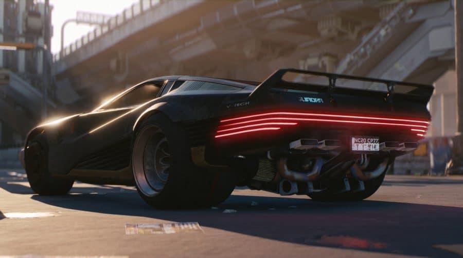Cyberpunk 2077 terá garagem para carros e motos preferidas
