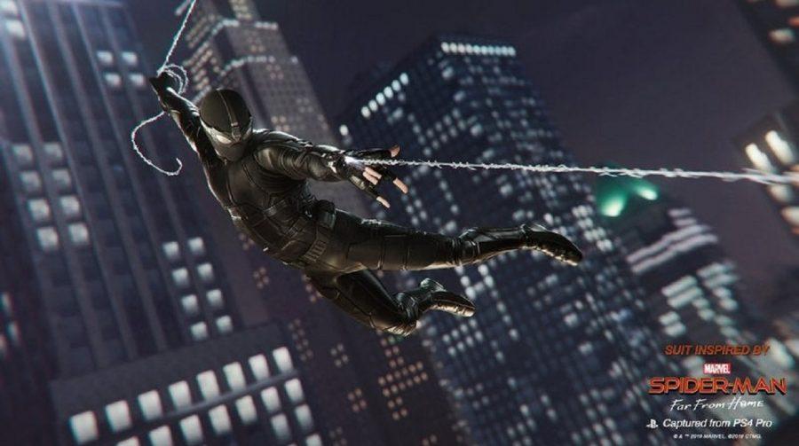 Marvel's Spider-Man receberá trajes de Homem-Aranha: Longe de Casa