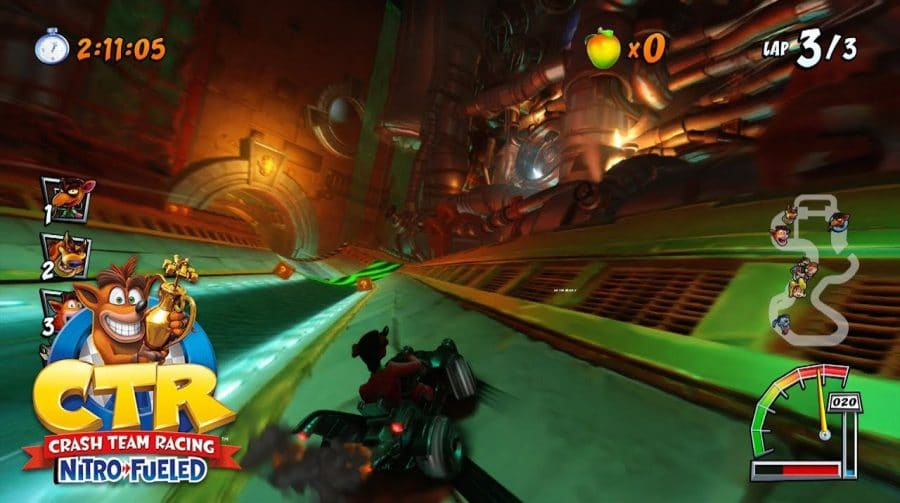 Crash Team Racing Nitro-Fueled é o mais vendido da série Crash nos EUA