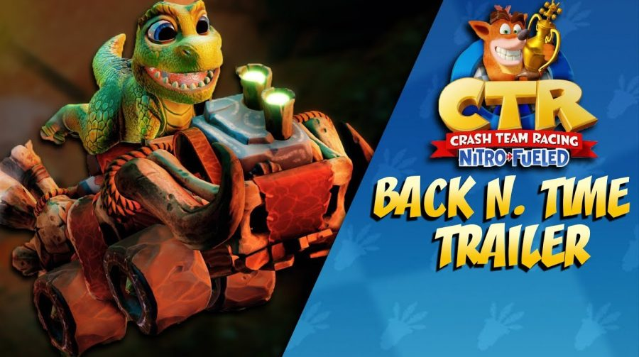 Crash Team Racing Nitro-Fueled recebe nova pista, itens e temporada!