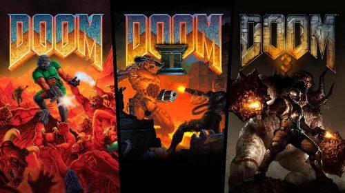 Surpresa! DOOM I, II e III acabam de chegar ao PS4
