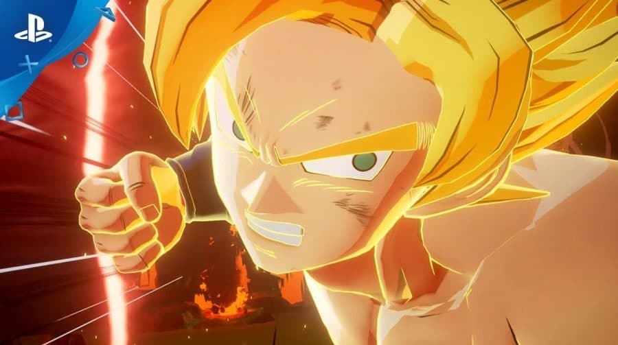 Dragon Ball Z: Kakarot: gameplay mostra luta de Goku com Raditz