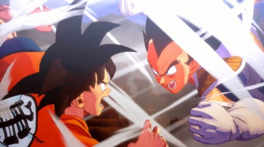 Dragon Ball Z Kakarot terá Gohan, Piccolo e Vegeta como jogáveis