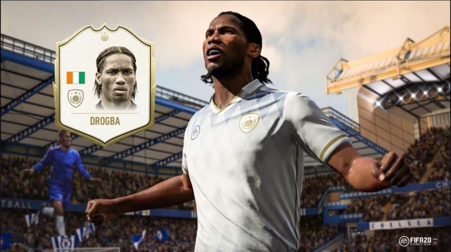 FIFA 20 ganha mais um Icon: Didier Drogba