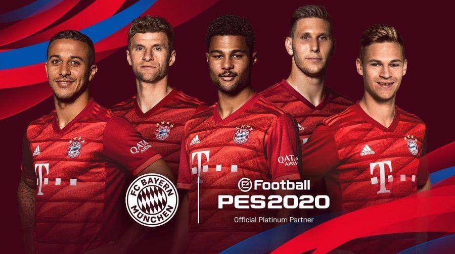 Bayern de Munique no PES 2020: Konami revela parceria oficial com clube