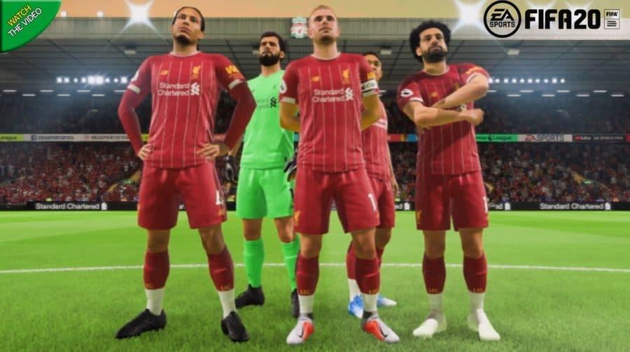 Guerra de licenças! FIFA 20 anuncia parceria com Liverpool FC