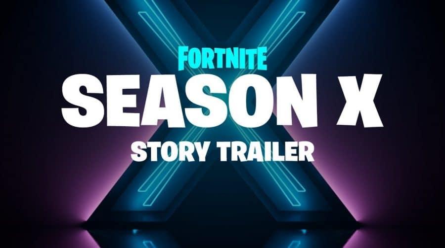 Trailer da Temporada X de Fortnite é revelado