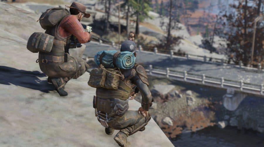 Fallout 76 recebe novo mapa battle royale e raids