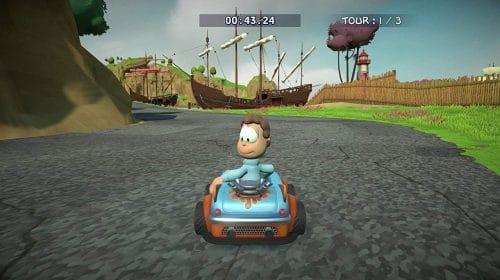 Garfield Kart: Furious Racing é anunciado para o PS4
