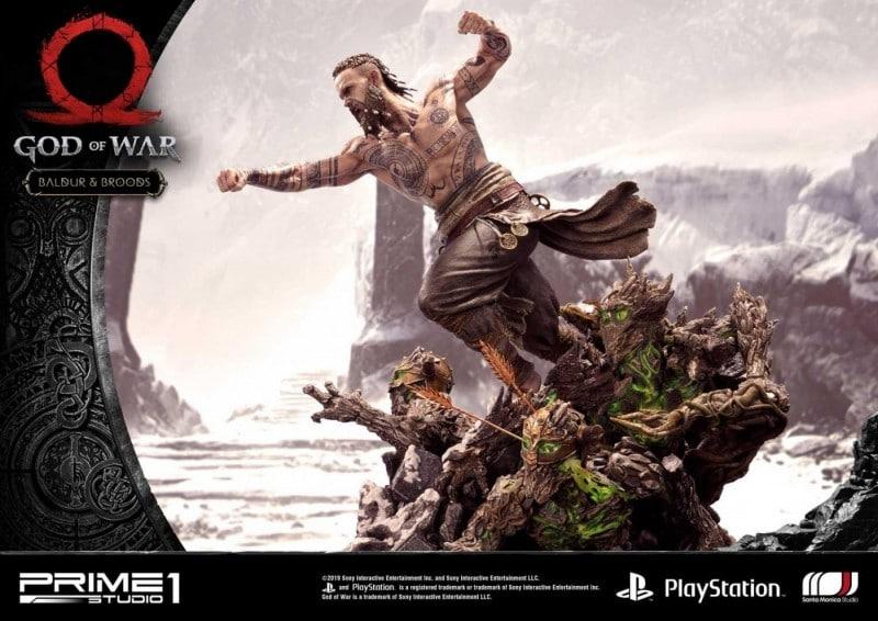 God of War ganhará incrível conjunto de estatuetas de Kratos vs. Baldur 1