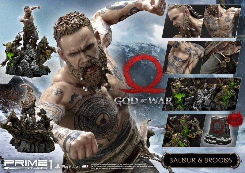 God of War ganhará incrível conjunto de estatuetas de Kratos vs. Baldur 2