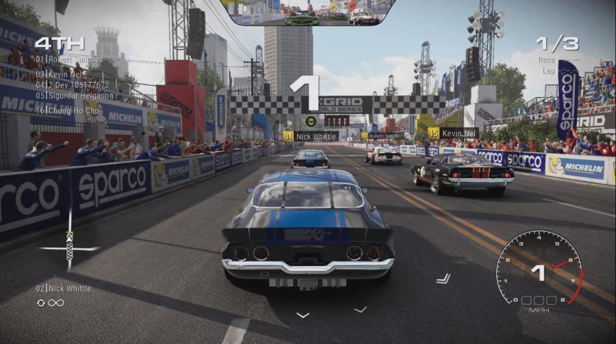 Gameplay de GRID tem belo visual e jogabilidade fluída