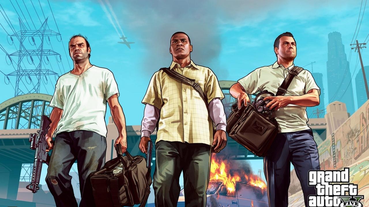 Jogos mais vendidos GTA V