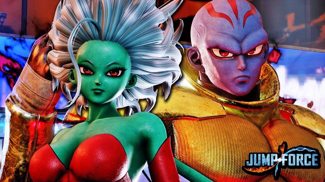 Jump Force: Galena e Kane