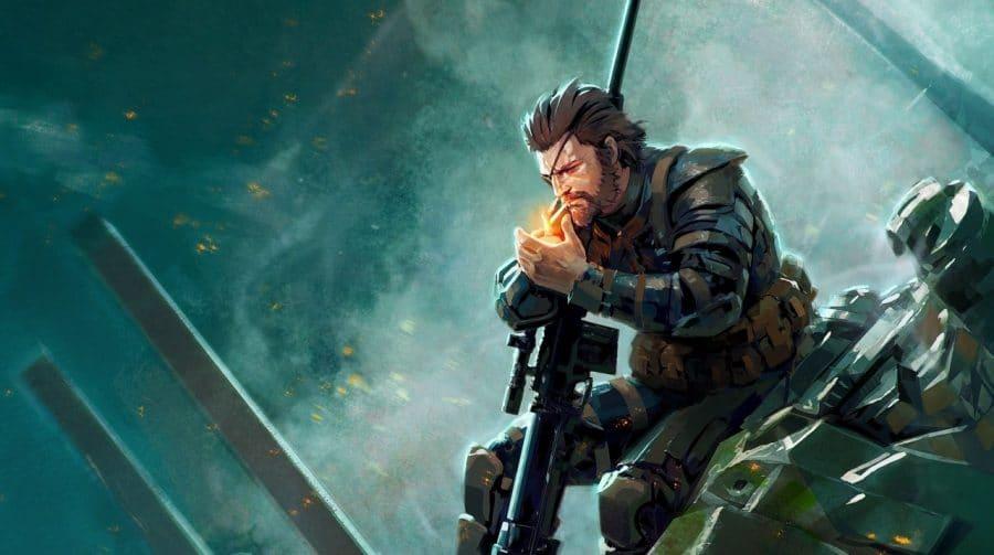 Limitado vinil de Metal Gear Solid é anunciado para a Comic-Con