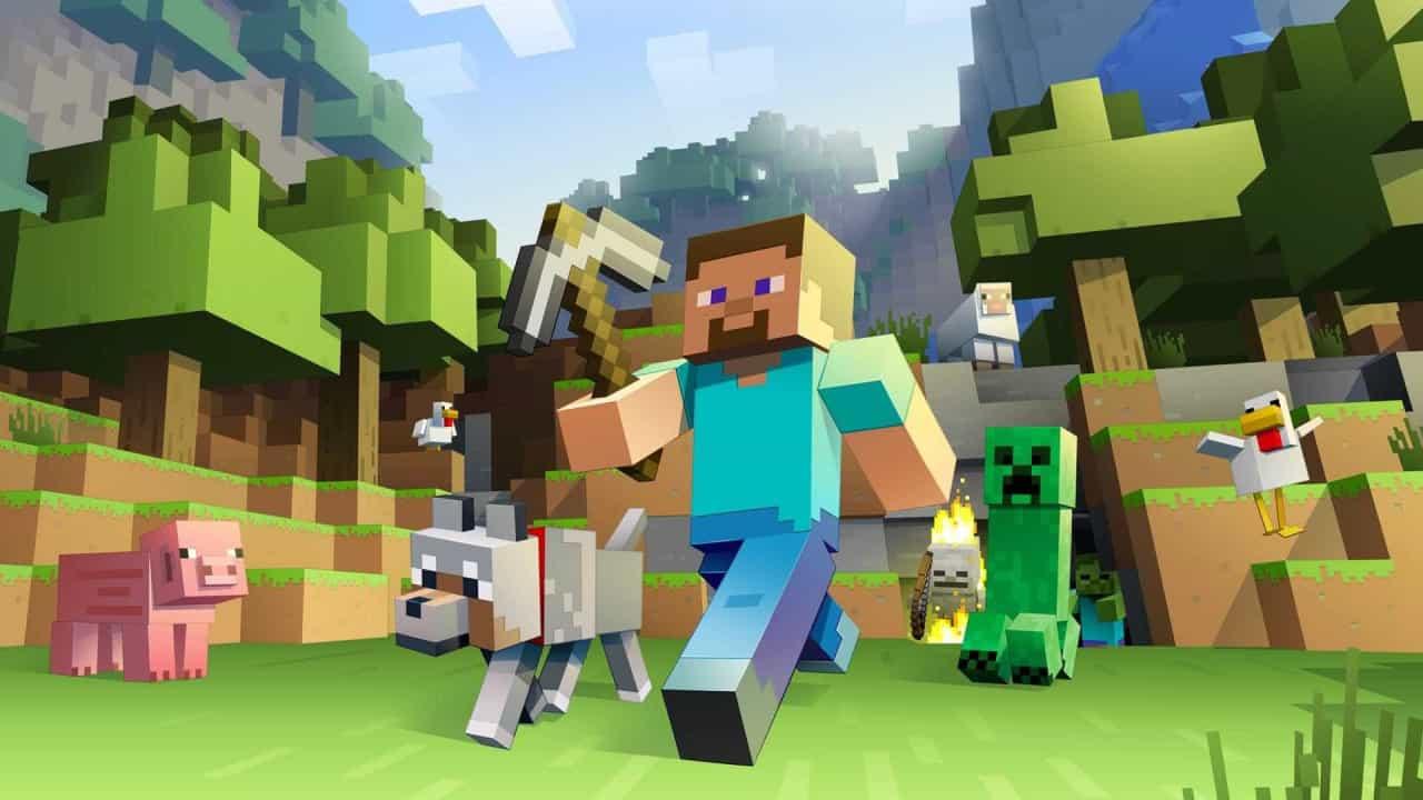 Jogos mais vendidos Minecraft