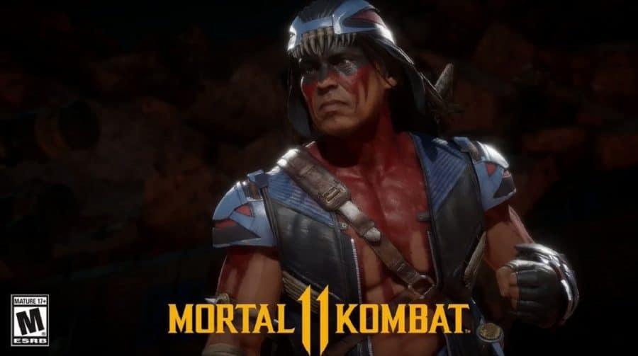 Nightwolf pode chegar a Mortal Kombat 11 em 13 de agosto