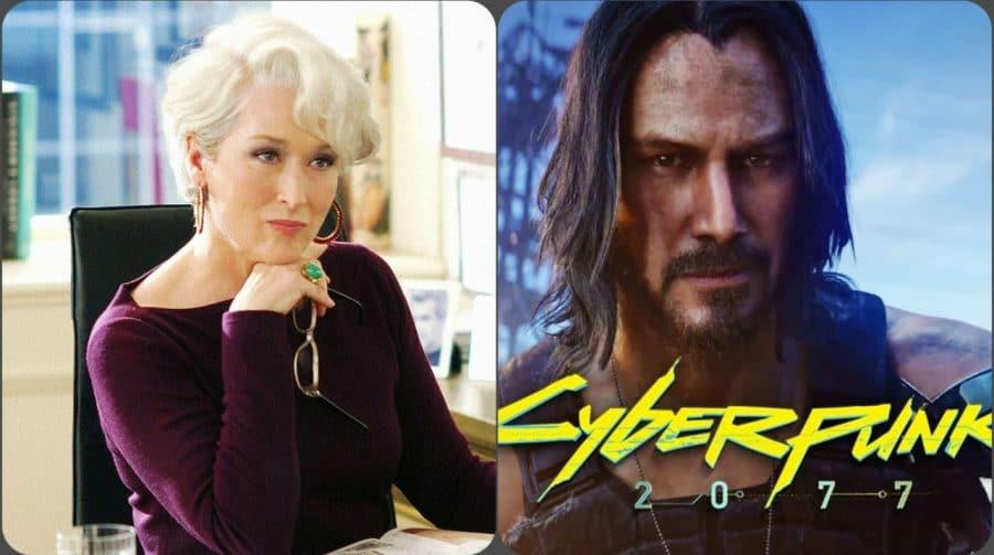 Produtor gostaria de ter Meryl Streep em Cyberpunk 2077