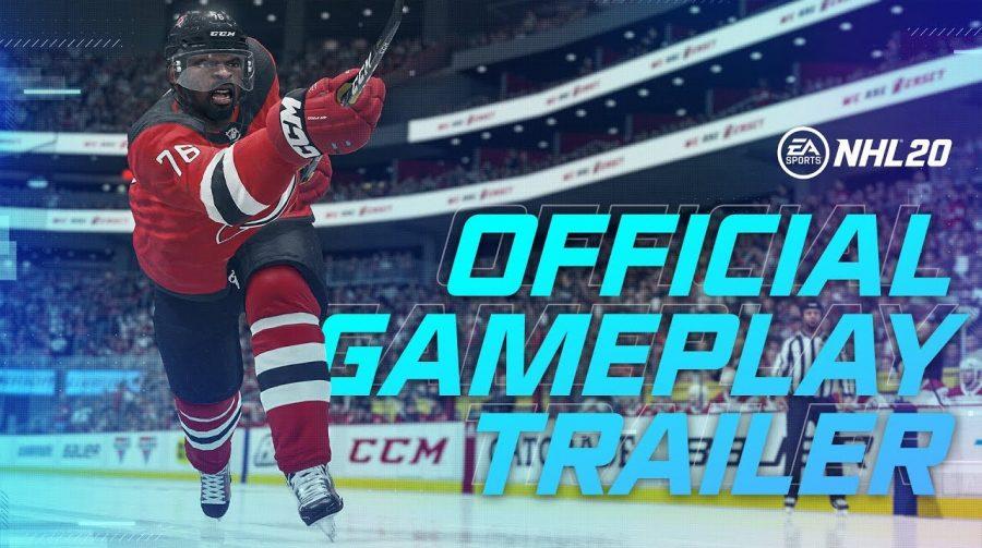 NHL 20 recebe trailer de gameplay com boas novidades